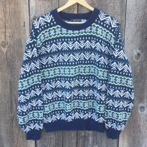 VTG 80s-90s Peconic Bay Traders Crewneck Sweater